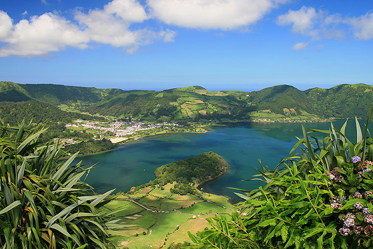 The Sete Cidades Lake
