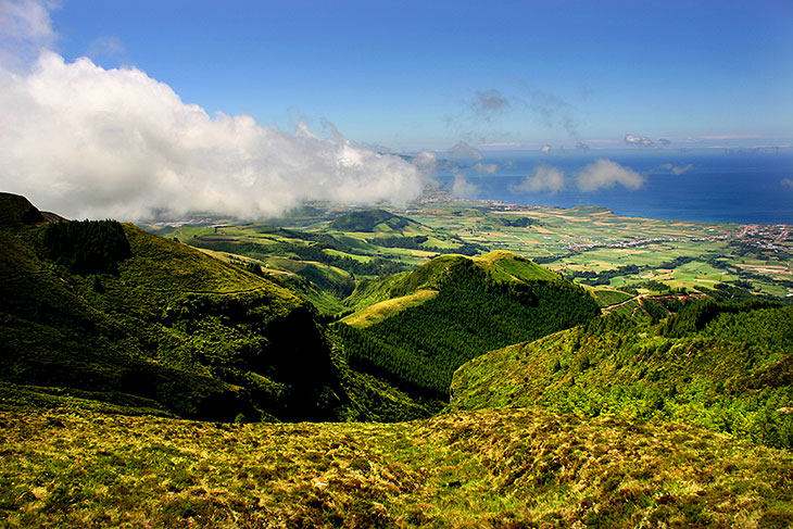 Breathtaking view of São Miguel