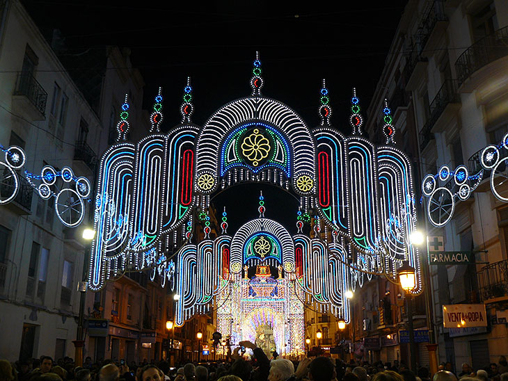 Fallas Street Lights