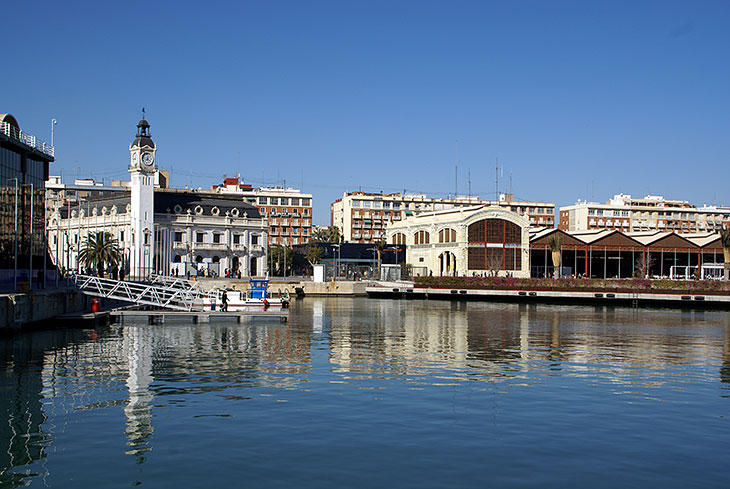 Valencia Harbour