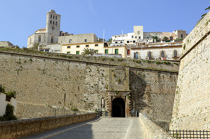 Gateway to the old quarter, Ibiza Town