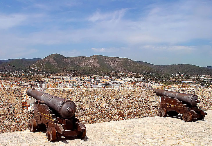 View from Dalt Vila